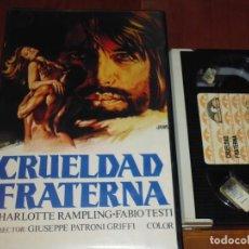 Cine: CRUELDAD FRATERNA - CHARLOTTE RAMPLING , FABIO TESTI - BETA. Lote 207146998