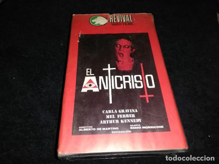 EL ANTICRISTO BETA ORIGINAL EDICION ANTIGUA UNICA (Cine - Películas - BETA)