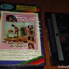 Cine: DULCE PIEL DE MUJER - FERNANDO REY, SUSAN SCOTT - VIDEO 2000 - RAREZA. Lote 207341181
