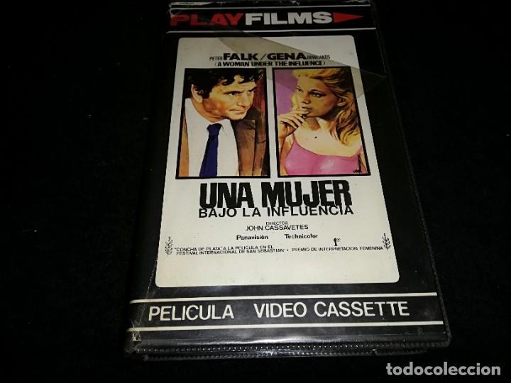 UNA MUJER BAJO LA INFLUENCIA BETA ORIGINAL PLAY FILMS (Cine - Películas - BETA)