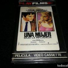 Cine: UNA MUJER BAJO LA INFLUENCIA BETA ORIGINAL PLAY FILMS. Lote 207838280