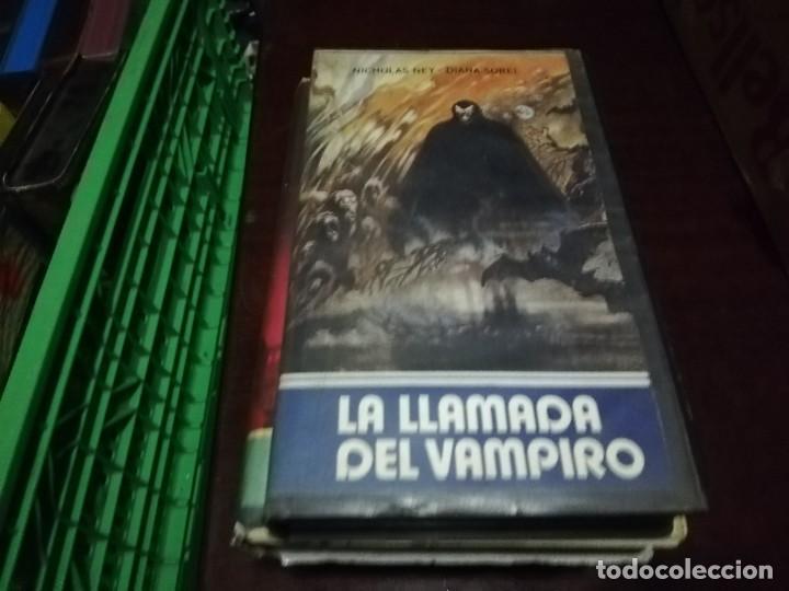 LA LLAMADA DEL VAMPIRO V2000 ORIGINAL SISTEMA VIDEO 2000 ELORRIETA DRACULA (Cine - Películas - BETA)