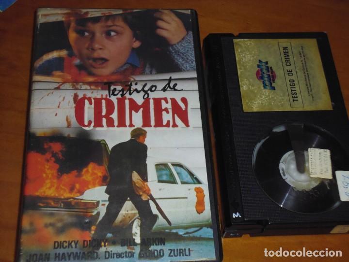 TESTIGO DE CRIMEN - DICKY DICKY, BILL ARKIN, GUIDO ZURLI - BETA (Cine - Películas - BETA)