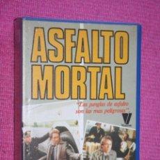 Cine: ASFALTO MORTAL (JOHN GETZ, DEAN SANTORO, INGRID ANDERSON) * FILM BETA (1984) * CINE ACCION THRILLER. Lote 210300016