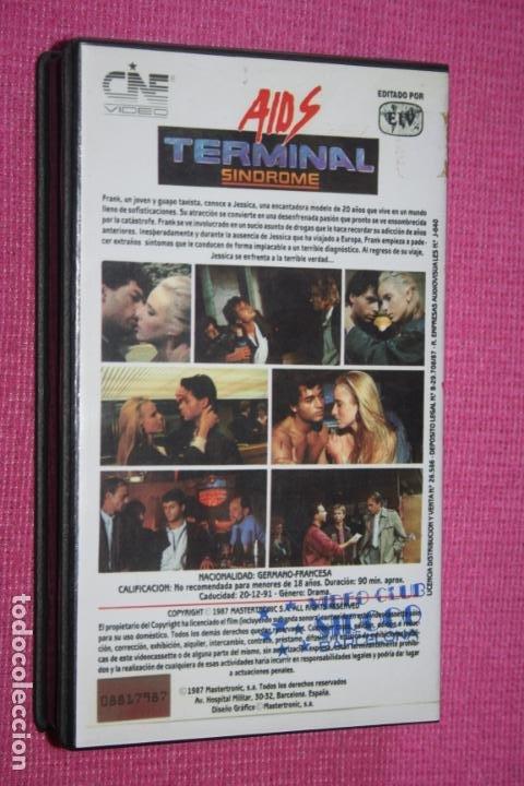 Cine: SIDA TERMINAL (Geraldine Venom, Claudia Arnold, Oliver Pascal) * FILM BETA CINE DRAMA THRILLER * - Foto 2 - 210319616