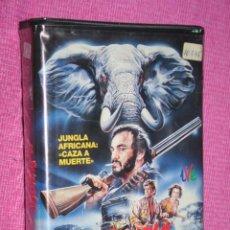 Cine: LA JUNGLA DE MARFIL (LUCY GUTTERIDGE, ANDREW STEVENS, JULIAN GLOVER) * FILM BETA AVENTURAS. Lote 210321615