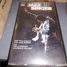 Cine: THE JAZZ SINGER V2000 ORIGINAL SISTEMA VIDEO 2000. Lote 210448345