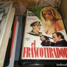 Cine: EL FRANCOTIRADOR V2000 ORIGINAL SISTEMA VIDEO 2000 PAUL NASCHY CARLOS PUERTO. Lote 210451090