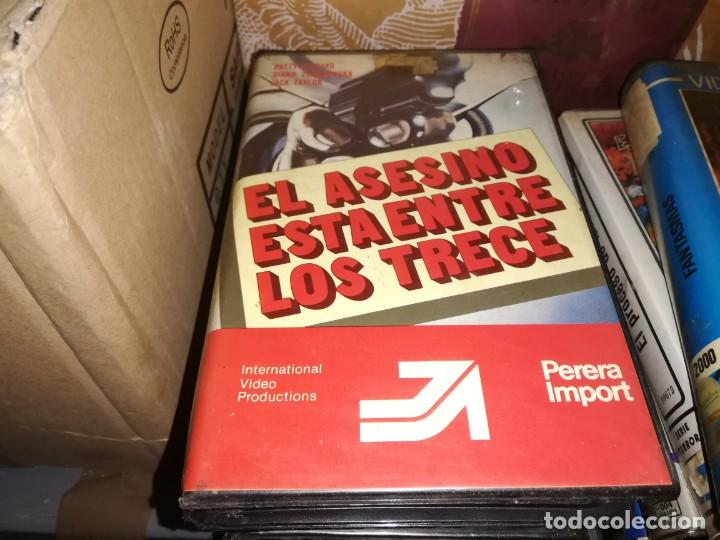EL ASESINO ESRA ENTRE LOS TRECE 13 V2000 ORIGINAL SISTEMA VIDEO 2000 PAUL NASCHY (Cine - Películas - BETA)