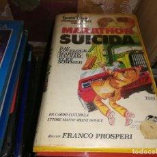 Cine: MARATON SUICIDA V2000 ORIGINAL SISTEMA VIDEO 2000 FRANCO PROSPERI. Lote 210452510