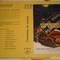 Cine: ¡¡SOLO CARATULA¡¡CAJA GRANDE,¡ CORRERIAS DE VERANO. Lote 211393687