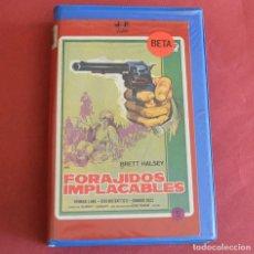 Cine: FORAJIDOS IMPLACABLES - BRETT HALSEY - BETA. Lote 211482330