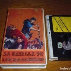 Cine: LA BATALLA DE LOS RANCHEROS - ROD CAMERON, ELLA RAINES - BETA. Lote 211869805
