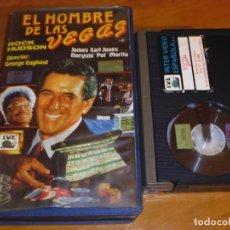 Cine: EL HOMBRE DE LAS VEGAS - ROCK HUDSON , PAT MORITA - BETA. Lote 211869893
