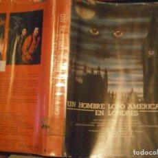 Cine: UN HOMBRE LOBO AMERICANO EN LONDRES ,,BETA CAJA GRANDE¡¡. Lote 211886166