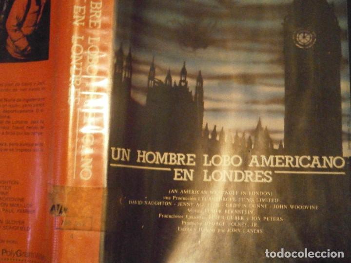 Cine: UN HOMBRE LOBO AMERICANO EN LONDRES ,,BETA CAJA GRANDE¡¡ - Foto 2 - 211886166