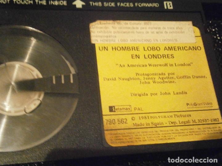 Cine: UN HOMBRE LOBO AMERICANO EN LONDRES ,,BETA CAJA GRANDE¡¡ - Foto 3 - 211886166