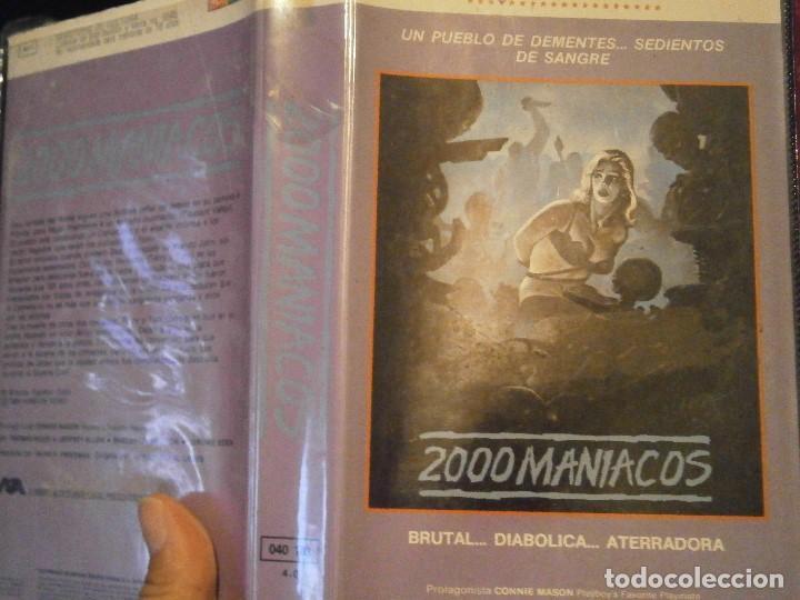 2000 MANIACOS BETA CAJA GRANDE (Cine - Películas - BETA)