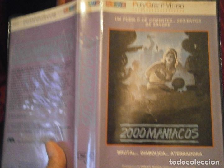 Cine: 2000 MANIACOS BETA CAJA GRANDE - Foto 2 - 211886342