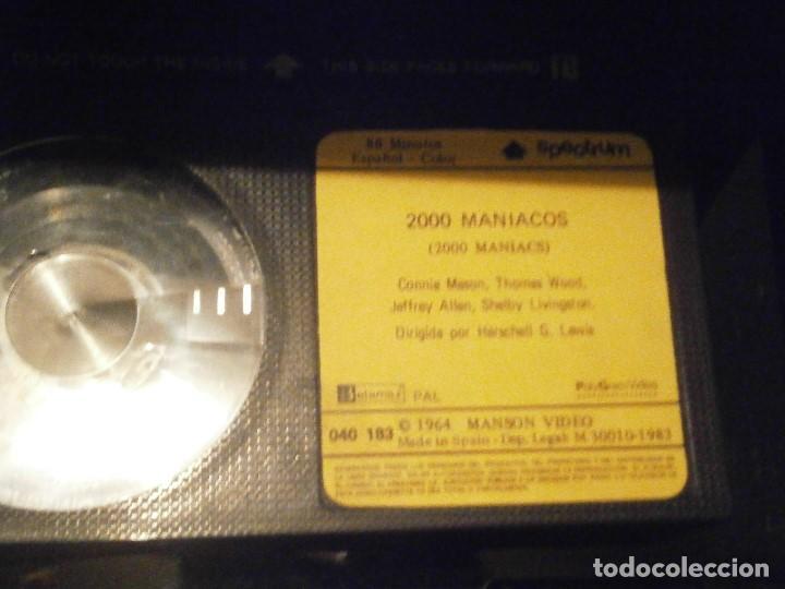 Cine: 2000 MANIACOS BETA CAJA GRANDE - Foto 5 - 211886342