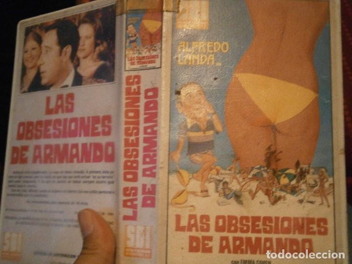 LAS OBSESIONES DE ARMANDO BETA ¡¡ (Cine - Películas - BETA)