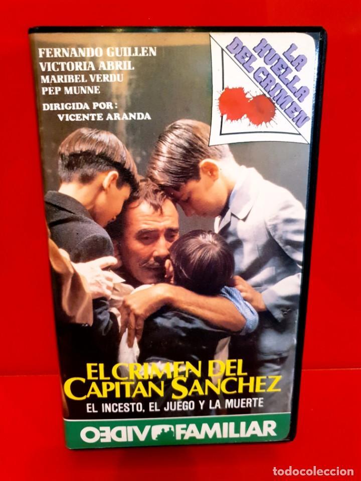 EL CRIMEN DEL CAPITAN SANCHEZ (1985) - LA HUELLA DEL CRIMEN - NUNCA EN TC (Cine - Películas - BETA)