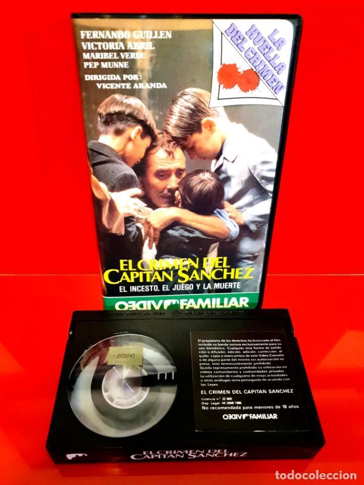 Cine: EL CRIMEN DEL CAPITAN SANCHEZ (1985) - La huella del crimen - NUNCA EN TC - Foto 3 - 211911287