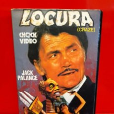 Cine: LOCURA (1974) - CRAZE. JACK PALANCE, DIANA DORS, JULIE EGE - TERROR. Lote 211913933
