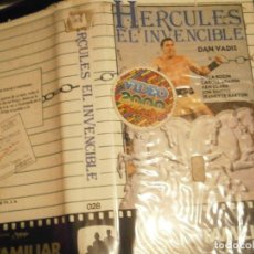 Cine: HERCULES EL INVENCIBLE BETA CAJA GRANDE. Lote 212032156