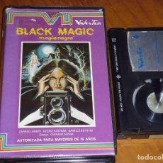 Cine: BLACK MAGIC / MAGIA NEGRA - CORRADO FARINA, CARROL BAKER, GEORGE EASTMAN - TERROR - BETA. Lote 212429946