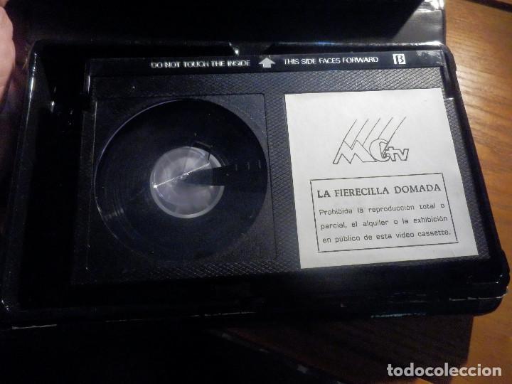 Cine: VIDEO-CASSETTE PELÍCULA BETAMAX - LA FIERECILLA DOMADA CARMEN SEVILLA, ALBERTO CLOSAS - MCTV - Foto 3 - 213403147