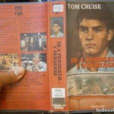 Cine: IR A PERDERLO Y PERDERSE¡BETA 1 EDICION,DISPONEMOS,MAS,DE,60.000,EN VHS BETA 2000¡. Lote 213532345