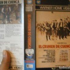 Cine: EL CRIMEN DE CUENCA¡BETA 1 EDICION,DISPONEMOS,MAS,DE,60.000,EN VHS BETA 2000¡. Lote 213541286