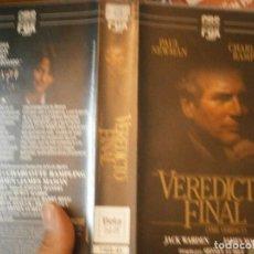 Cine: VEREDICTO FINAL¡BETA 1 EDICION,DISPONEMOS,MAS,DE,60.000,EN VHS BETA 2000¡. Lote 213541327