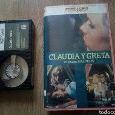 Cine: CLAUDIA Y GRETA, MAX PECAS, BETA. Lote 213542411