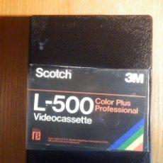 Cine: VIDEO-CASSETTE BETAMAX - SCOTCH L-500 COLOR PLUS - CINTA PARA GRABAR 130 MIN. Lote 213830518