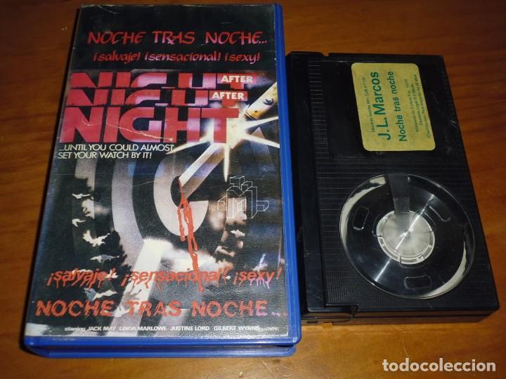 NOCHE TRAS NOCHE / NIGHT AFTER NIGHT - JACK MAY , LINDA MARLOWE - TERROR - BETA (Cine - Películas - BETA)