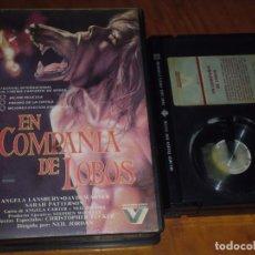 Cine: EN COMPAÑIA DE LOBOS - ANGELA LANSBURY , NEIL JORDAN - TERROR - BETA. Lote 218784381