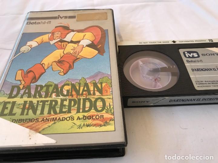 BETA ORIGINAL / D'ARTAGNAN EL INTREPIDO (Cine - Películas - BETA)