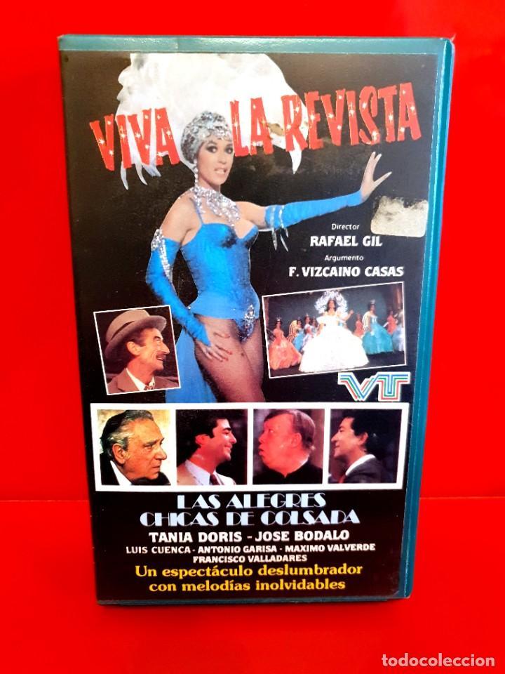 VIVA LA REVISTA - RAFAEL GIL, TANIA DORIS - ESTUCHE ORIGINAL!! (Cine - Películas - BETA)