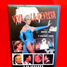 Cine: VIVA LA REVISTA - RAFAEL GIL, TANIA DORIS - ESTUCHE ORIGINAL!!. Lote 219606425