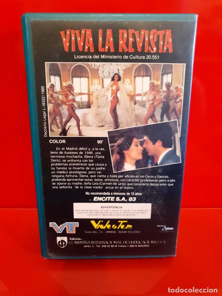 Cine: VIVA LA REVISTA - RAFAEL GIL, TANIA DORIS - ESTUCHE ORIGINAL!! - Foto 2 - 219606425