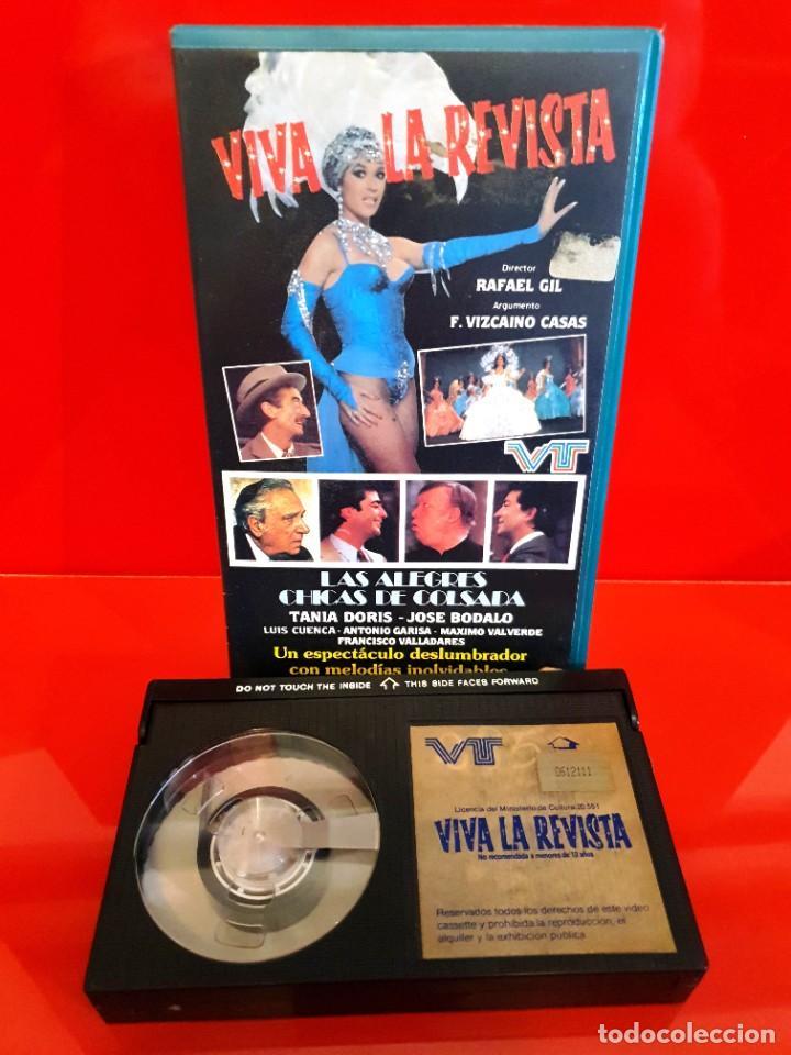 Cine: VIVA LA REVISTA - RAFAEL GIL, TANIA DORIS - ESTUCHE ORIGINAL!! - Foto 3 - 219606425