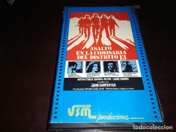ASALTO A LA COMISARIA DEL DISTRITO 13 BETA ORIGINAL EDICION UNICA JOHN CARPENTER (Cine - Películas - BETA)