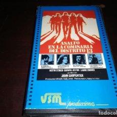 Cine: ASALTO A LA COMISARIA DEL DISTRITO 13 BETA ORIGINAL EDICION UNICA JOHN CARPENTER. Lote 222085795