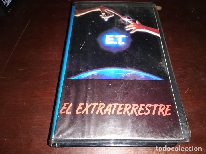 ET EL EXTRATERRESTRE BETA ORIGINAL EDICION ANTIGUA E. T. STEVEN SPIELBERG (Cine - Películas - BETA)