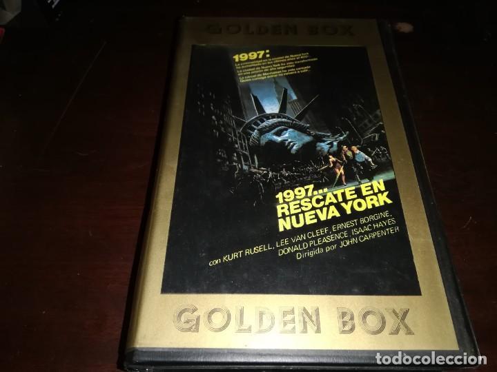 1997 RESCATE EN NUEVA YORK BETA ORIGINAL EDICION ARCAICA JOHN CARPENTER (Cine - Películas - BETA)