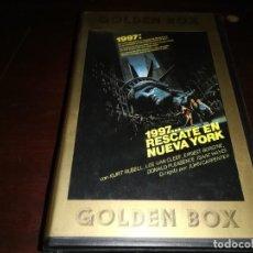 Cine: 1997 RESCATE EN NUEVA YORK BETA ORIGINAL EDICION ARCAICA JOHN CARPENTER. Lote 222086450