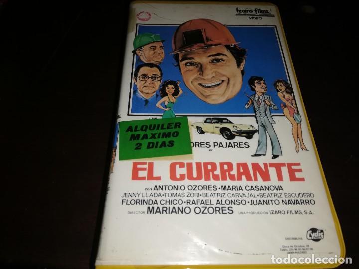 EL CURRANTE V2000 ORIGINAL SISTEMA VIDEO 2000 ANDRES PAJARES (Cine - Películas - BETA)