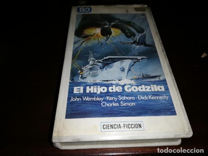 EL HIJO DE GODZILLA BETA ORIGINAL EDICION ARCAICA GODZILA (Cine - Películas - BETA)